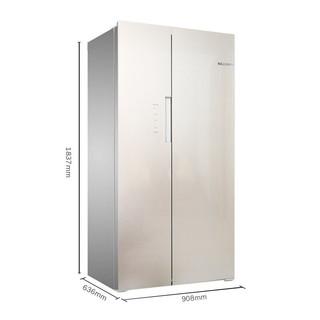 BOSCH 博世 KXN50S68TI 变频对开门冰箱 500L 曲奇色
