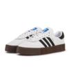 adidas Originals Sambarose 女士休闲运动鞋 AQ1134 白/棕生胶 38