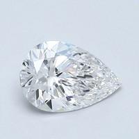 0.72 克拉梨形钻石非常好切工 | E 级成色 | VVS1 净度