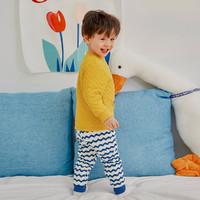 YUZHAOLIN 俞兆林 儿童保暖睡衣套装