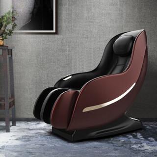 芝华仕 头等舱 电动多功能太空舱按摩椅家用全身小型迷你 M2050 车厘子红15天内发货