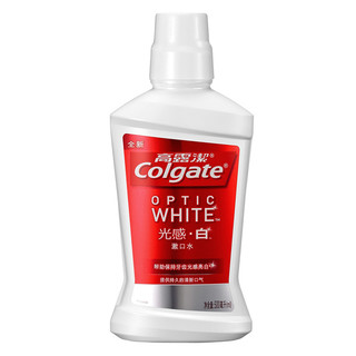 Colgate 高露洁 光感·劲白系列漱口水 薄荷味 500ml