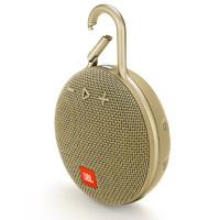 JBL 杰宝 Clip3 音乐盒三代 蓝牙便携音箱 沙黄色