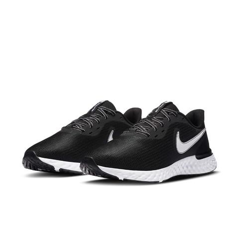 NIKE 耐克 Revolution 5 EXT 男士跑鞋 CZ8591-001 黑色/白色 42