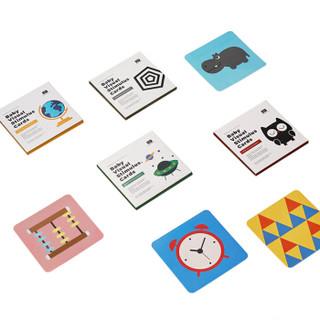 28日0点:babycare 黑白视觉激发卡片 新生婴儿早教闪卡彩  4本