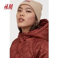H&M 0763873 女装长款棉服外套