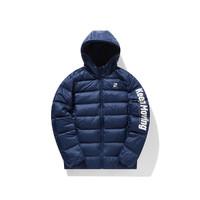 ANTA 安踏 15947992-2 男式字母连帽冬季保暖运动羽绒服