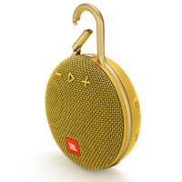JBL 杰宝 CLIP3 2.0 便携蓝牙音箱 芥末黄