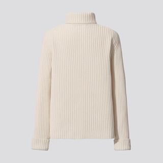 UNIQLO 优衣库 435929 女款两翻领羊毛混纺衫