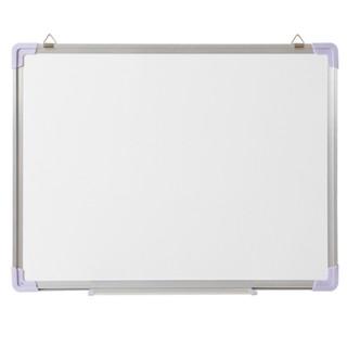 QIFU 齐富 A5070单面磁性白板 50*70cm 挂式白板 教学办公写字板 办公室白板 家用儿童练习涂鸦画板
