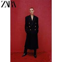 ZARA 08876738800 女装羊毛大衣外套