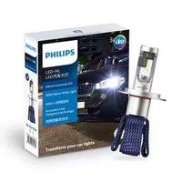 京东PLUS会员:PHILIPS 飞利浦 星耀光 LED车灯 H4 汽车大灯 12V/17W 两支装 *2件