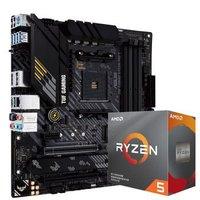 AMD Ryzen 锐龙 R5-3600 盒装CPU处理器 + ASUS 华硕 TUF GAMING B450M-PRO S重炮手主板 板U套装