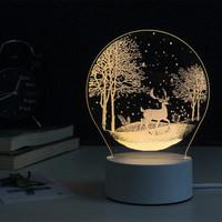 同信道 丛林鹿3D立体视觉台灯