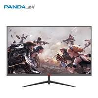 百亿补贴:PANDA 熊猫 PK27FA6 27英寸TN显示器(1920*1080、99%sRGB、165hz)