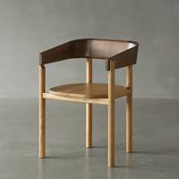 特惠NORHOR/ELMOOD手工实木家具/中式东方/TAM实木扶手椅圈椅Z