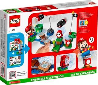 LEGO 乐高 Super Mario 超级马里欧系列 71366 大炮弹刺客发射扩展关卡