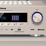 QiSheng 奇声 组合影院套装 AV-1609功放机+音响一对+低音炮