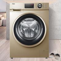 Haier 海尔 G100108B12G 变频大容量滚筒洗衣机 10KG