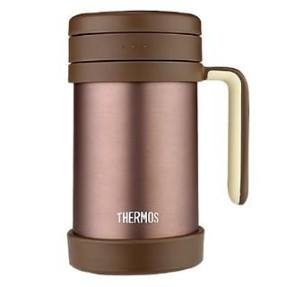 京东PLUS会员 : THERMOS 膳魔师 TCMF-500 保温杯 500ml 红棕色