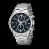 TAG Heuer 泰格豪雅 Carrera卡莱拉系列 CAR2110.BA0720 男士机械手表 41mm 黑盘 银色不锈钢表带 圆形