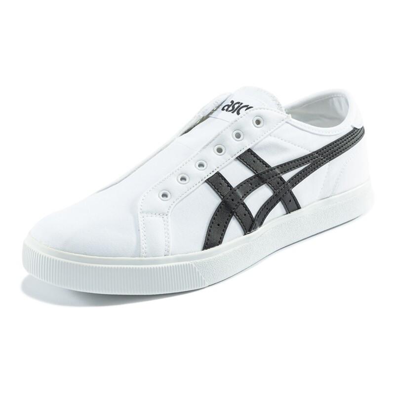 ASICS 亚瑟士 CLASSIC CT SLIP-ON 男士休闲运动鞋 1193A174-100 白色/黑色 42.5