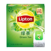 Lipton 立顿 黄山/四川绿茶茶包 100包 *10件