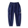 PEPCO 小猪班纳 男童休闲运动工装裤 110130245 经典蓝 110cm