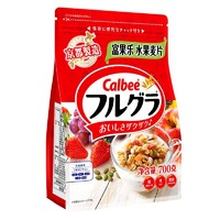 Calbee/卡乐比 原味水果麦片 700g *5件
