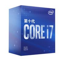 intel 英特尔 i7-10700F 盒装CPU处理器
