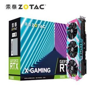 ZOTAC 索泰 RTX3090X-GAMING OC 显卡 24GB