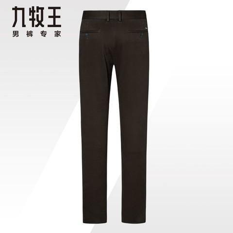 JOEONE 九牧王 JB165011T 男士休闲裤