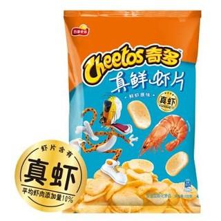 奇多 Cheetos)零食 休闲食品 真鲜虾片原味102克
