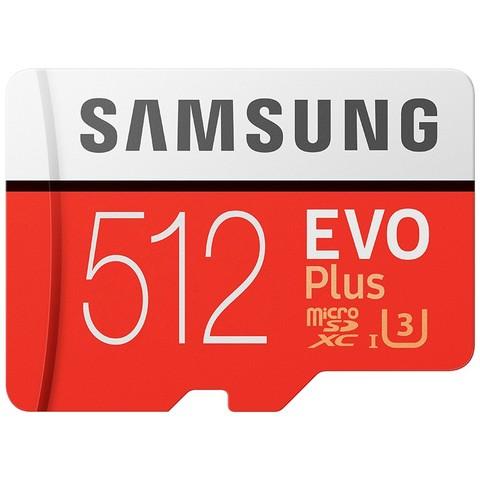 SAMSUNG 三星 EVO Plus 升级版  MicroSD存储卡 512GB