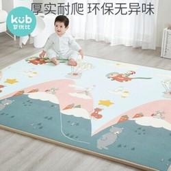 KUB 可优比 儿童爬行垫 双面图片+包边