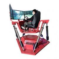vR赛车大型游戏设备 VR三屏赛车 汽车驾驶模拟器 VR安全科普体验馆