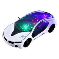 ZHIHUIYU 智慧鱼 万向宝马电动小汽车模型 3节5号 白色