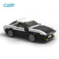 积木之家:CaDA 咔搭 头文字D漫画系列 C55014 赛车AE86积木
