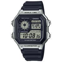 补贴购、限新人:CASIO 卡西欧 STANDARD系列 AE-1200WHD-1A 男士电子手表