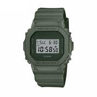 CASIO 卡西欧 地球色调户外系列 DW-5600ET-3PR 男士电子手表 48.9mm 绿盘 绿色树脂带 方形