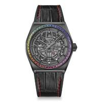 ZENITH 真力时 DEFY系列 彩虹圈限量款 男士机械腕表