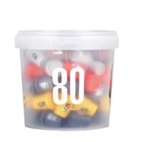 SATURNBIRD COFFEE 三顿半 数字精品 1-6号速溶咖啡 6口味 80颗*3g