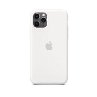 再补货 : Apple 苹果 iPhone 11ProMax 硅胶保护壳 白色