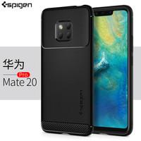 韩国Spigen华为Mate20pro手机壳防摔软硅胶mate20手机套壳 保护套新款潮牌创意个性男 华为Mate 20 Pro 黑色