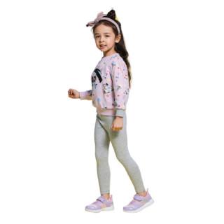 ANTA 安踏 春儿童长袖套头卫衣 A37919702 清爽紫 110cm