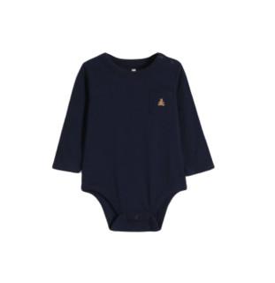 Gap 盖璞 婴儿刺绣长袖连体衣