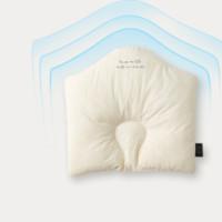 舒适宝新生婴儿枕头防螨枕芯定型枕 0-2岁 水洗防螨枕