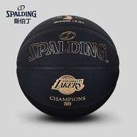 SPALDING 斯伯丁 77-050Y 湖人隊紀念籃球