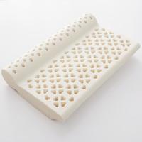 京东PLUS会员:J.ZAO 京东京造 泰国原芯护颈乳胶枕( 93%乳胶含量)