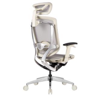 Ergoup有谱 致炫 人体工学椅电脑椅游戏电竞椅 老板椅子靠背椅可躺家用座椅升降网布椅办公椅 灰框灰网